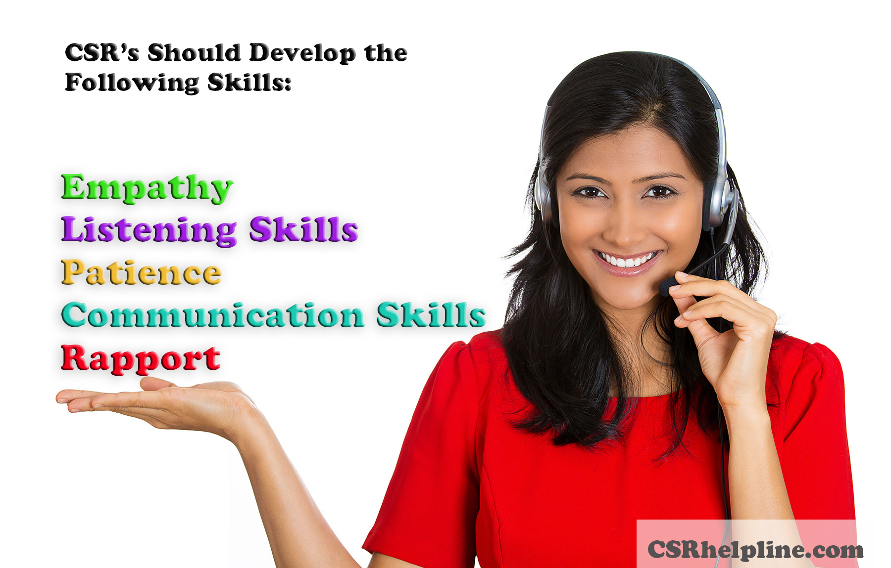 five important skills a customer service rep should possess csr empathy